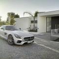 The Mercedes-AMG GT Designo Iridium Silver Magno