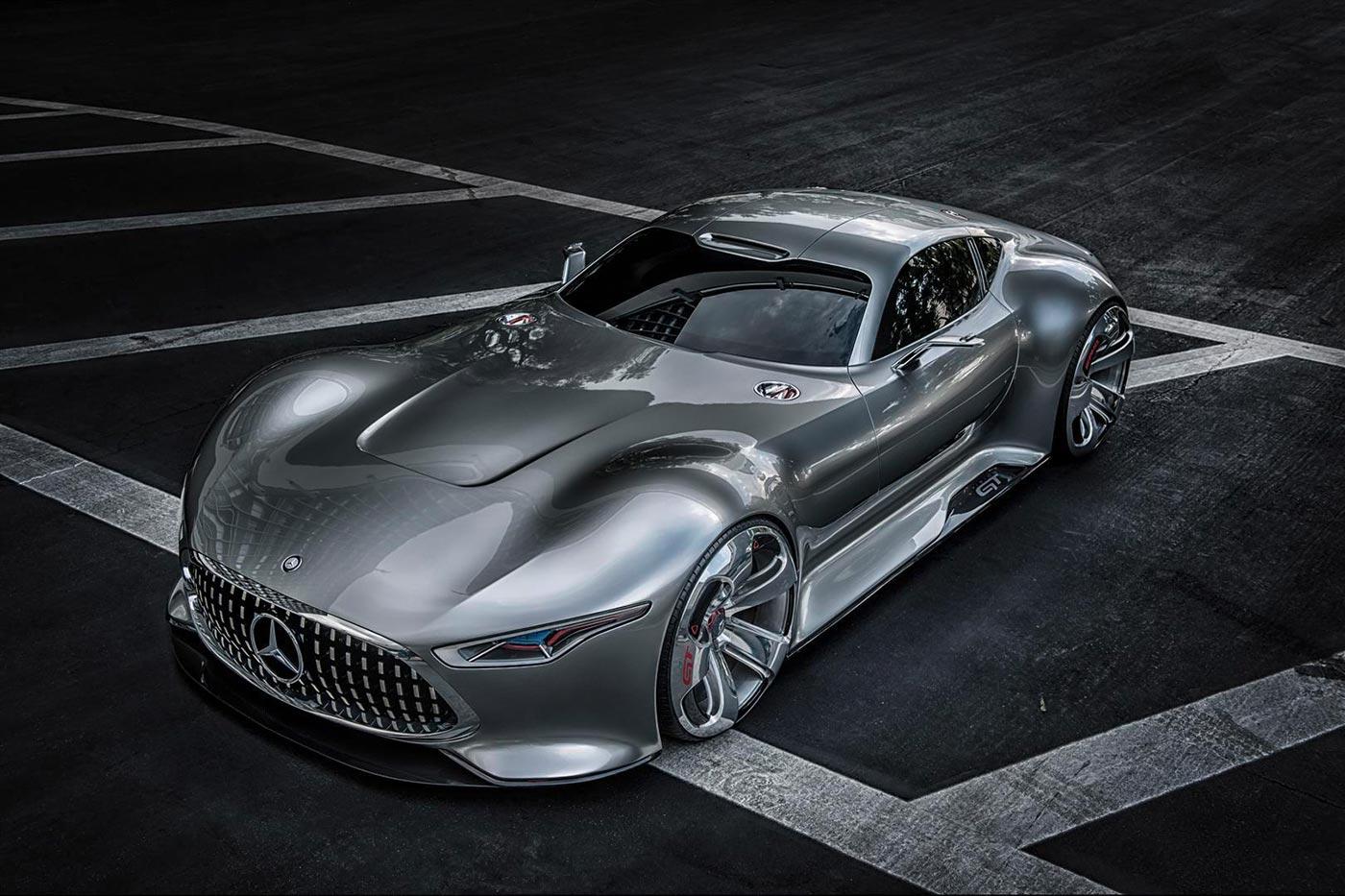 Mercedes-Benz presents AMG Vision Gran Turismo 1