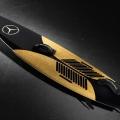 Mercedes-Benz Introduces the Garrett McNamara Cork Surfboard