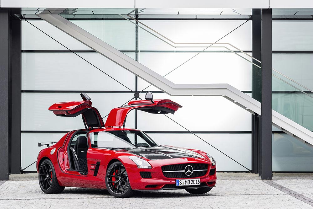 Die Mercedes-Benz SLS AMG GT Final Edition 2