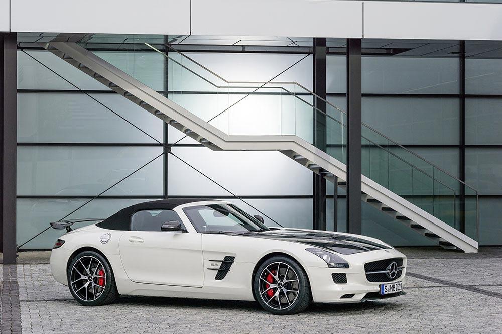 Die Mercedes-Benz SLS AMG GT Final Edition 9