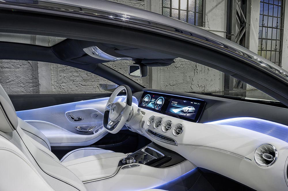 The new S-Class Concept by Mercedes 4