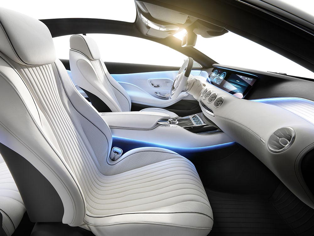 The new S-Class Concept by Mercedes 5