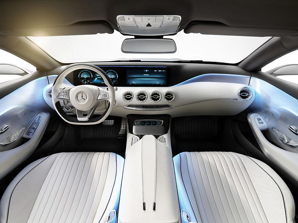 The new S-Class Concept by Mercedes 6