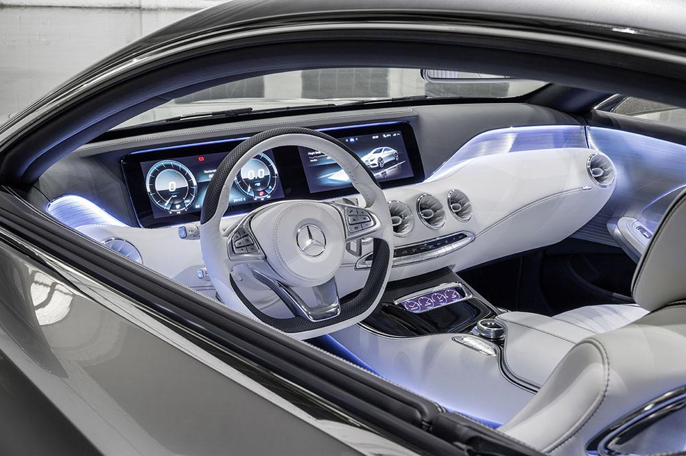 The new S-Class Concept by Mercedes 7