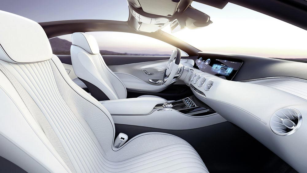 The new S-Class Concept by Mercedes 9