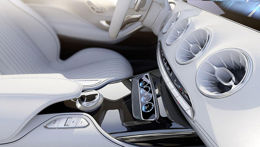 The new S-Class Concept by Mercedes 12
