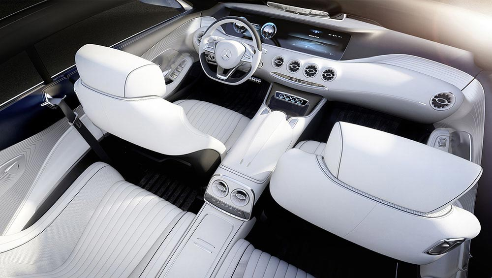 The new S-Class Concept by Mercedes 13