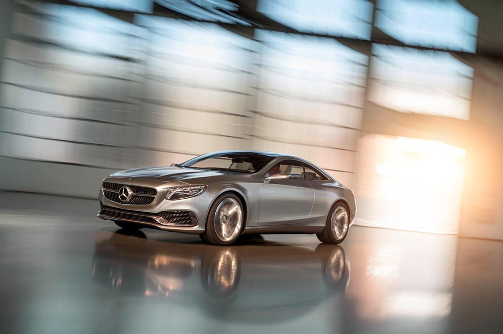The new S-Class Concept by Mercedes 1