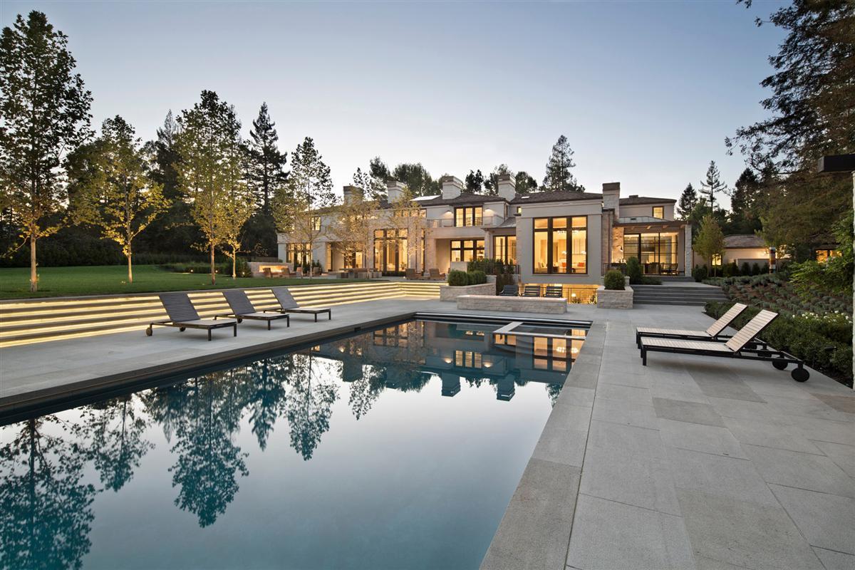 microsoft co founder and billionaire paul allen s new 27m home. Black Bedroom Furniture Sets. Home Design Ideas