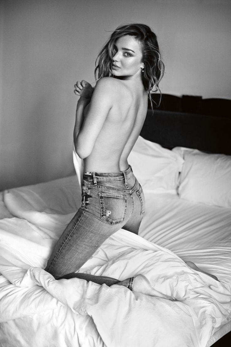 Miranda Kerr Für die 7 For All Mankind Kampagne 2014 2