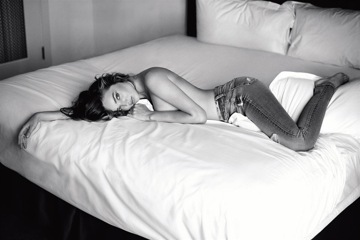 Miranda Kerr Für die 7 For All Mankind Kampagne 2014 1