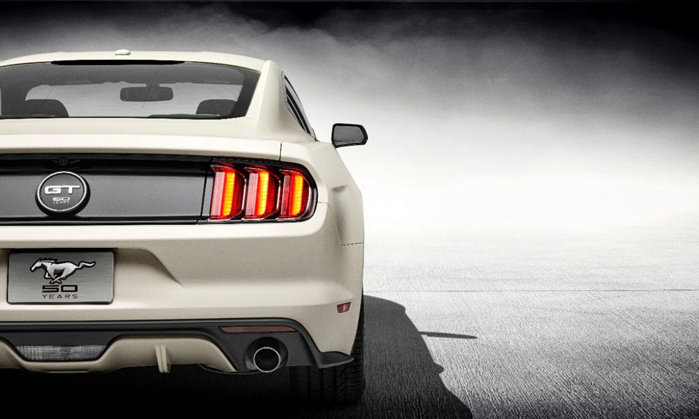 Mustang 50 Year Limited Edition 1