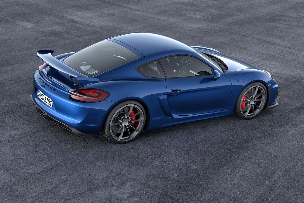 The All New Porsche Cayman GT4 2