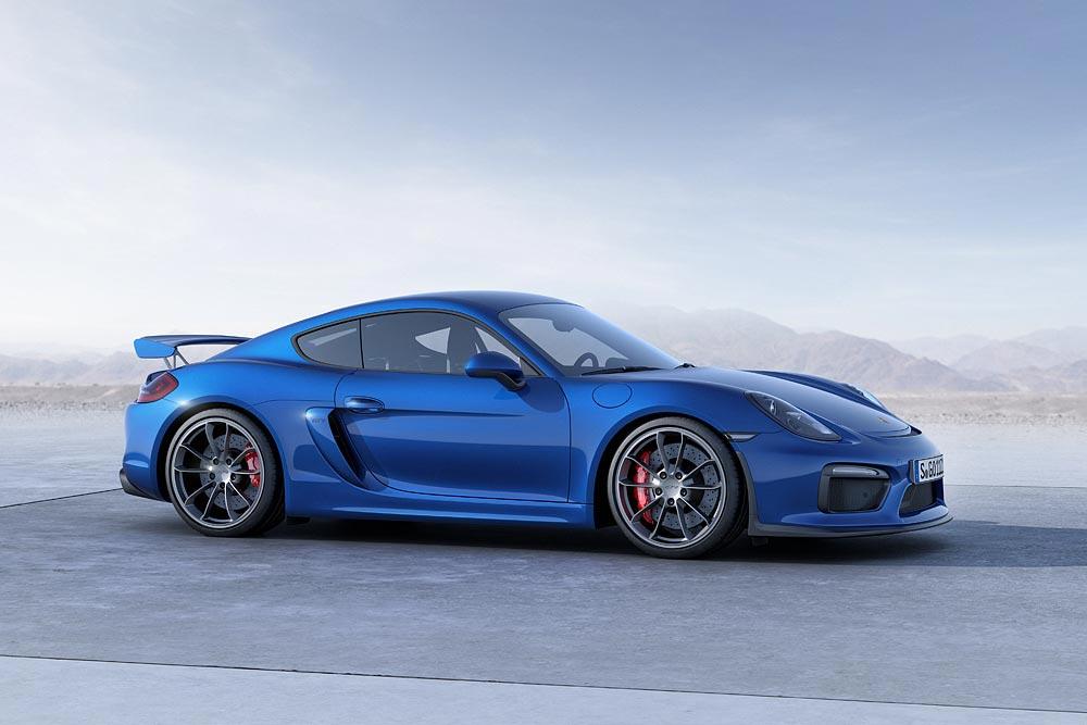 The All New Porsche Cayman GT4 3