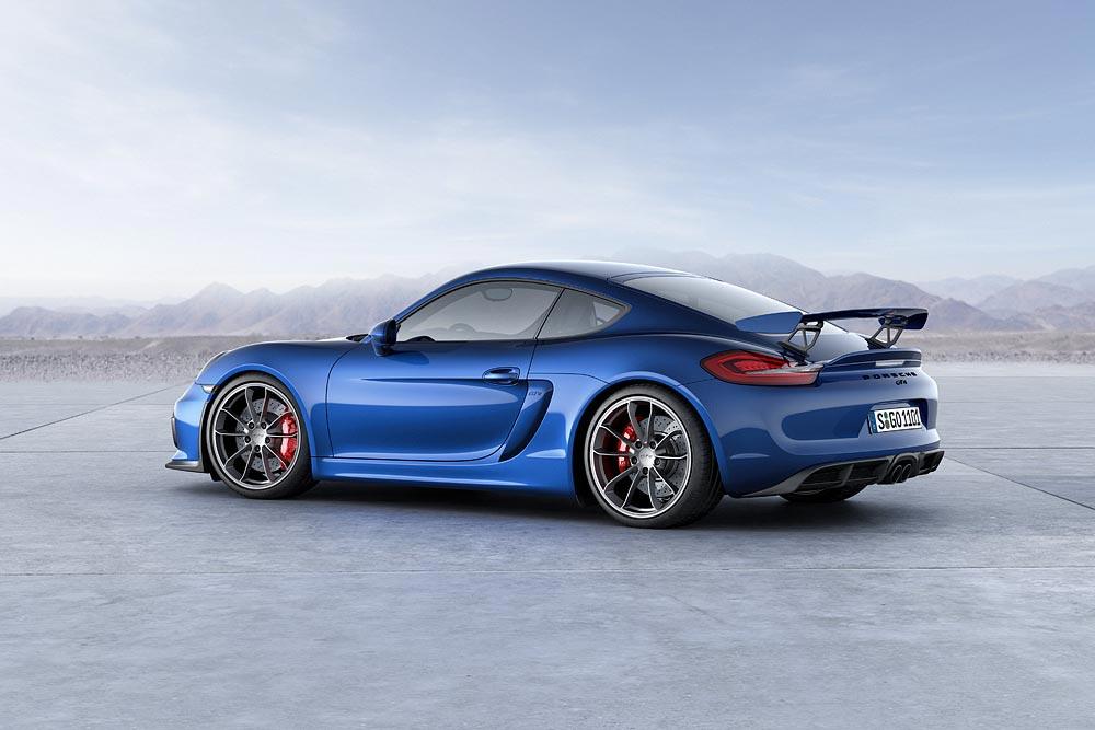 The All New Porsche Cayman GT4 4