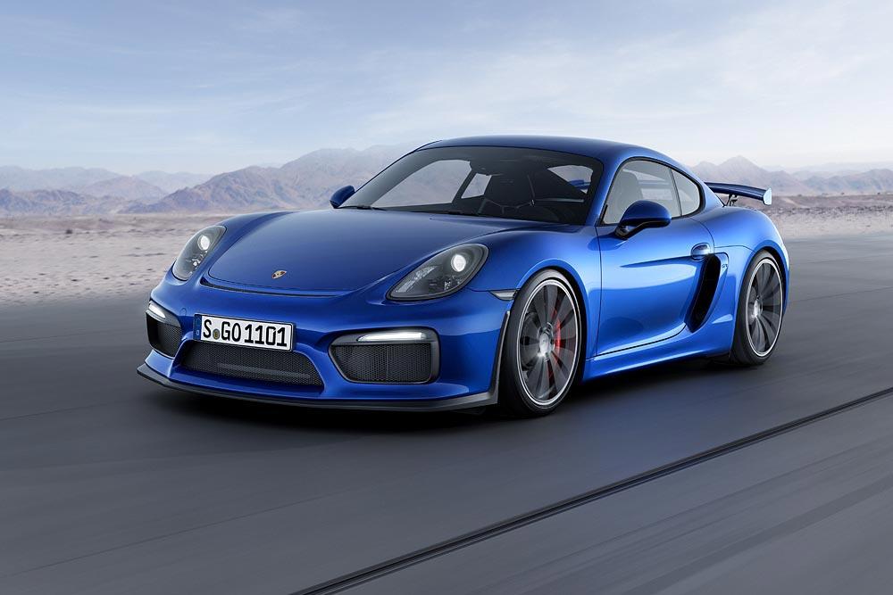 The All New Porsche Cayman GT4 5