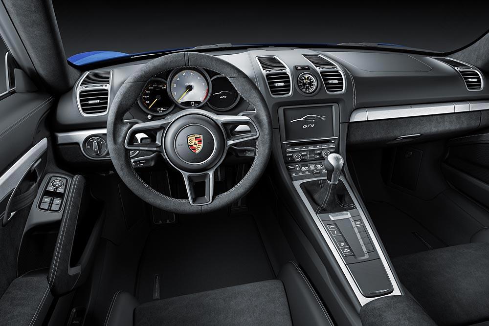 The All New Porsche Cayman GT4 7