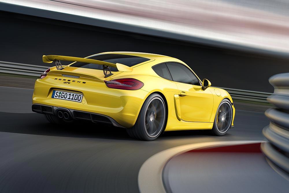 The All New Porsche Cayman GT4 8