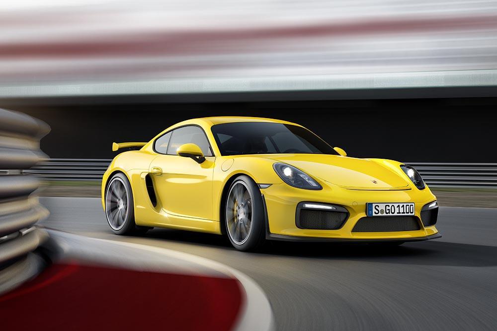 The All New Porsche Cayman GT4 9
