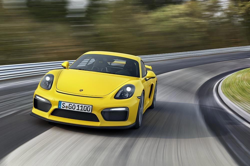 The All New Porsche Cayman GT4 10