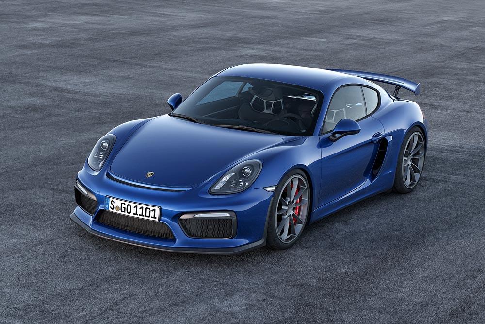 The All New Porsche Cayman GT4 1