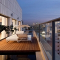 Penthouse North Star by Lev-Gargir Architects