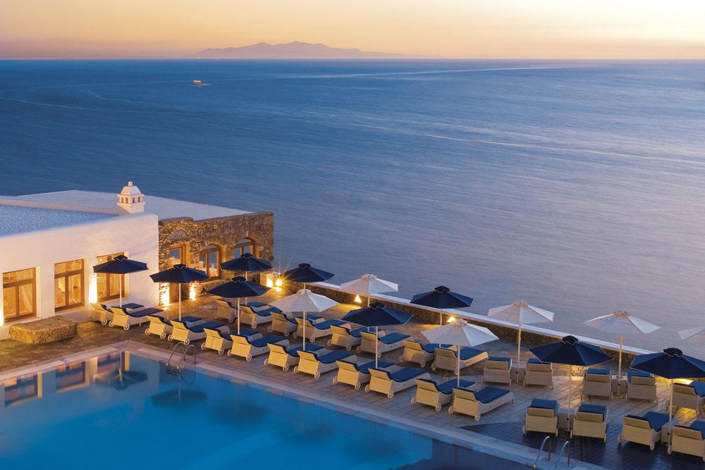 Best Island Beaches For Partying Mykonos St Barts: Petasos Beach Resort & Spa X Mykonos