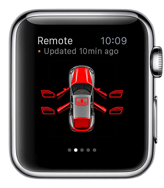 Porsche Car Connect for Apple Watch 3