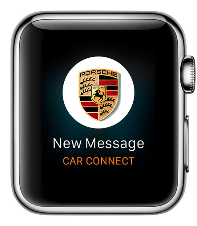 Porsche Car Connect for Apple Watch 4