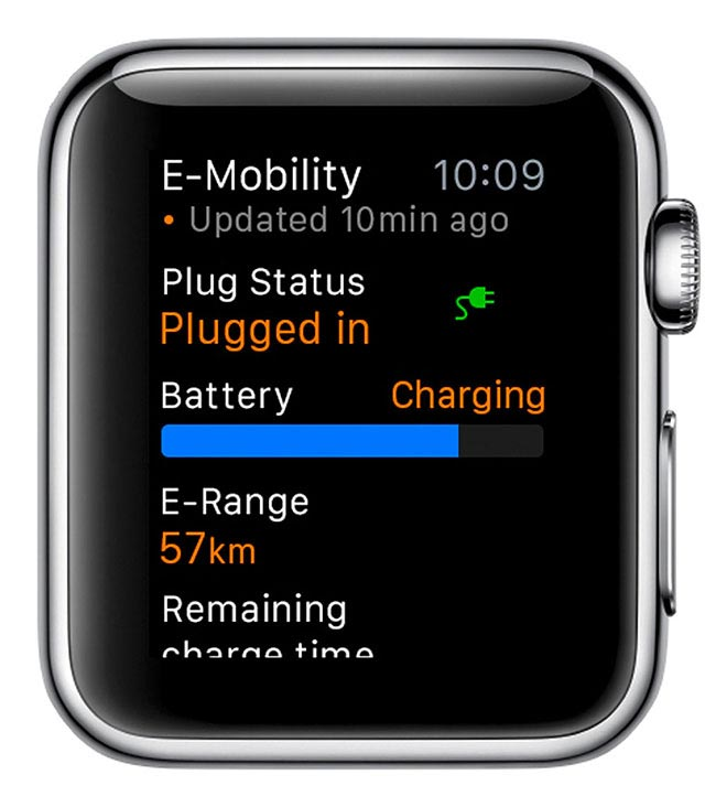 Porsche Car Connect for Apple Watch 6