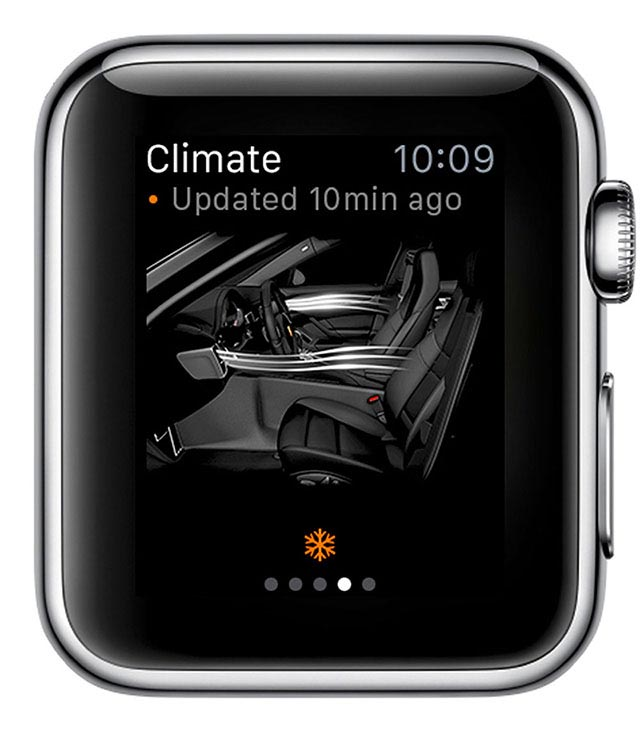 Porsche Car Connect for Apple Watch 7