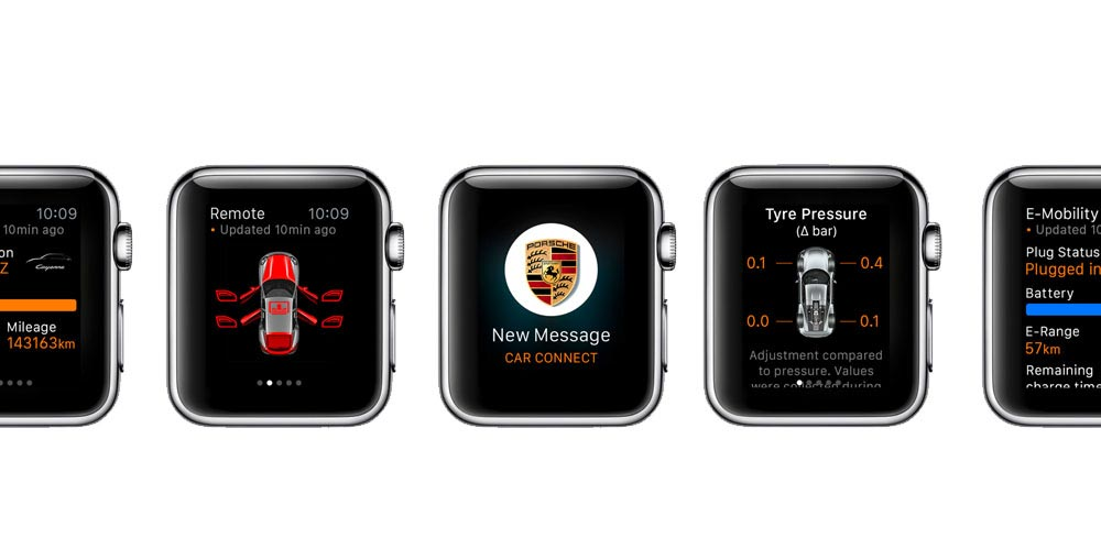 Porsche Car Connect for Apple Watch 1