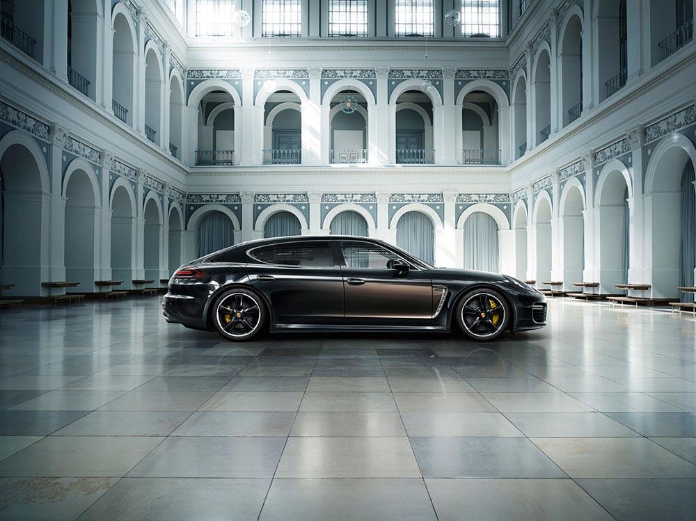Porsche enthüllt Panamera Exclusive Serie 1
