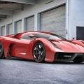 Ferrari 458 based project by Ugur Sahin