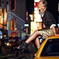 DKNY Resort 2014 Ad Kampagne: Rita Ora