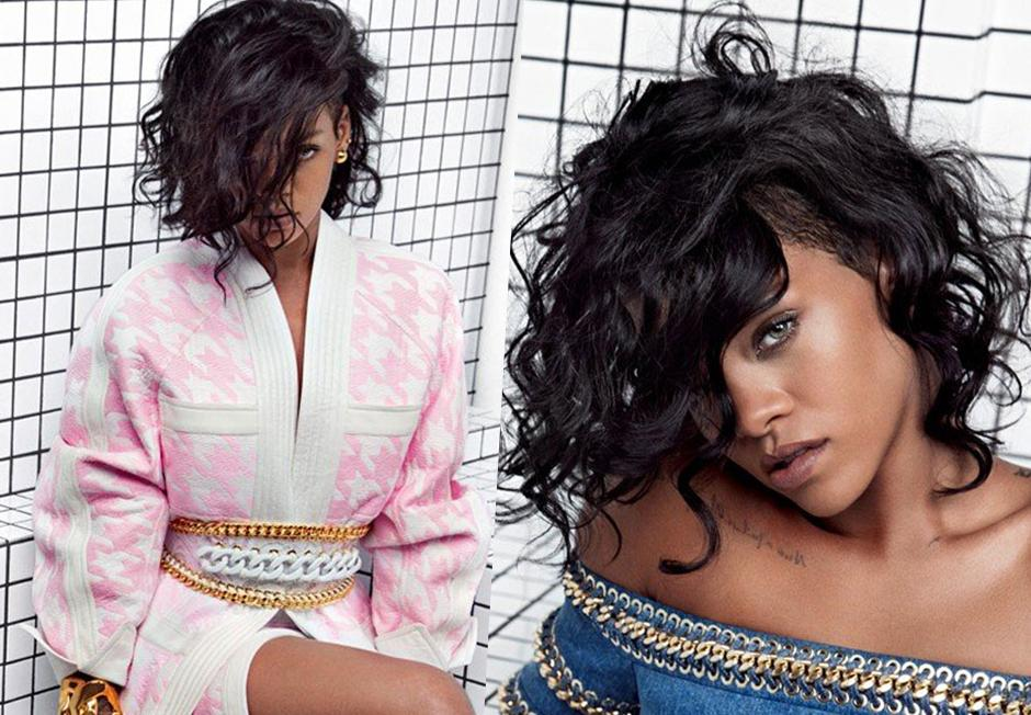 Rihanna Unveiled As The New Face of Balmain 1