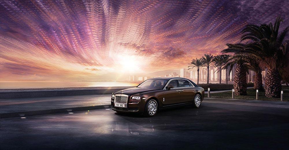 Neues Design: Rolls-Royce Ghost Series II