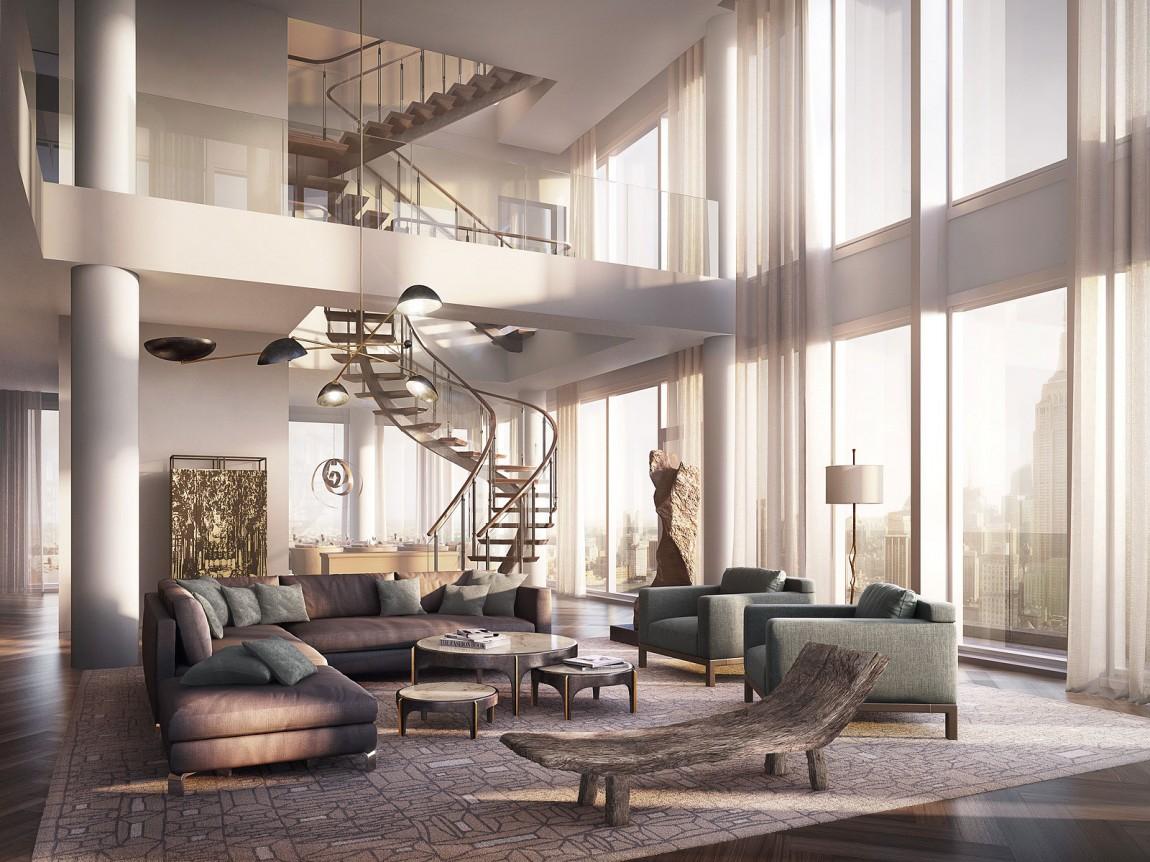 Rupert Murdoch\'s Neues $57 Millionen Dollar Penthouse in Manhattan
