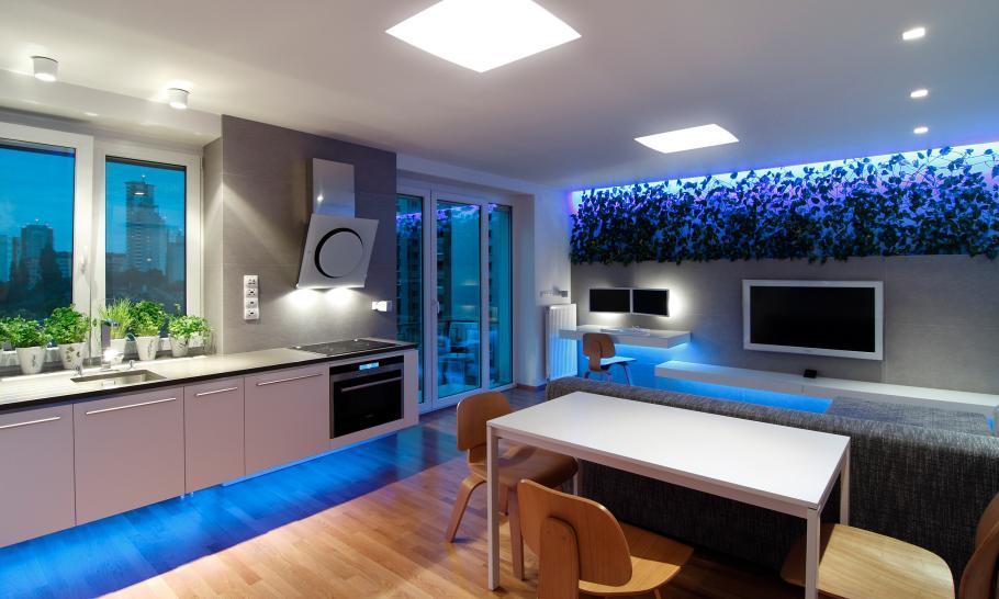 Ein innovatives Apartment mit LED Technik 1