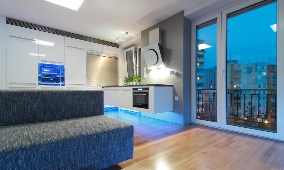 Ein innovatives Apartment mit LED Technik 8