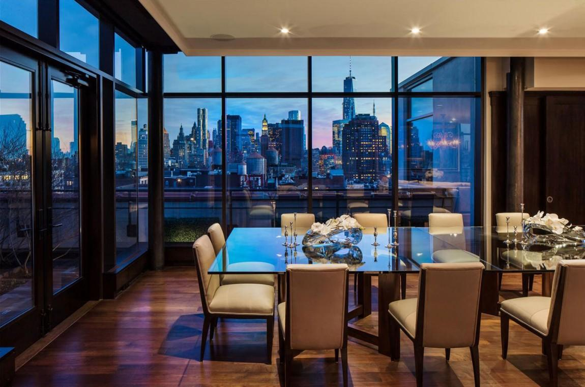 the 37 5 million dollar duplex penthouse in soho new york. Black Bedroom Furniture Sets. Home Design Ideas