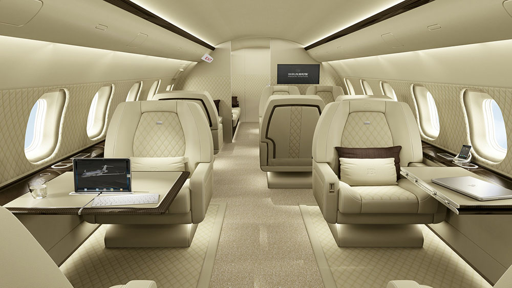 The Most Luxurious Private Jet Interior Designs  MRGOODLIFE