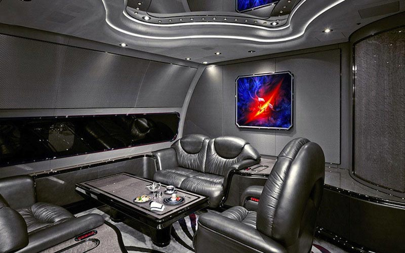 The most luxurious private jet interior designs mr goodlife for Top 50 luxury car interior designs
