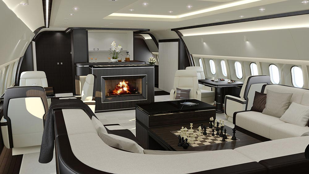 Die luxuri sesten privatjet inneneinrichtungen mr goodlife Top interior design companies in the world