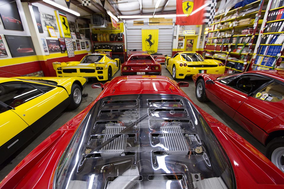 The Private Ferrari Collection of Phil Bachman 3
