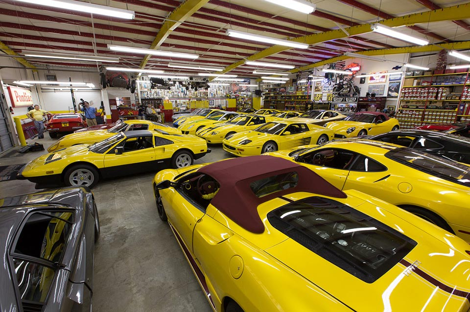 The Private Ferrari Collection of Phil Bachman 1