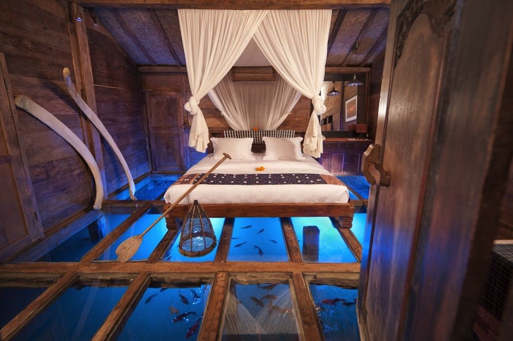 This Suite in Bali has a Floor Made of Glass x The Shrimp House 1