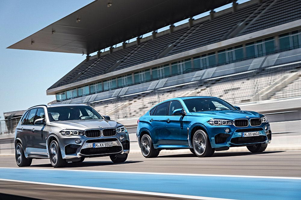 The new BMW X5 M and new BMW X6 M 2