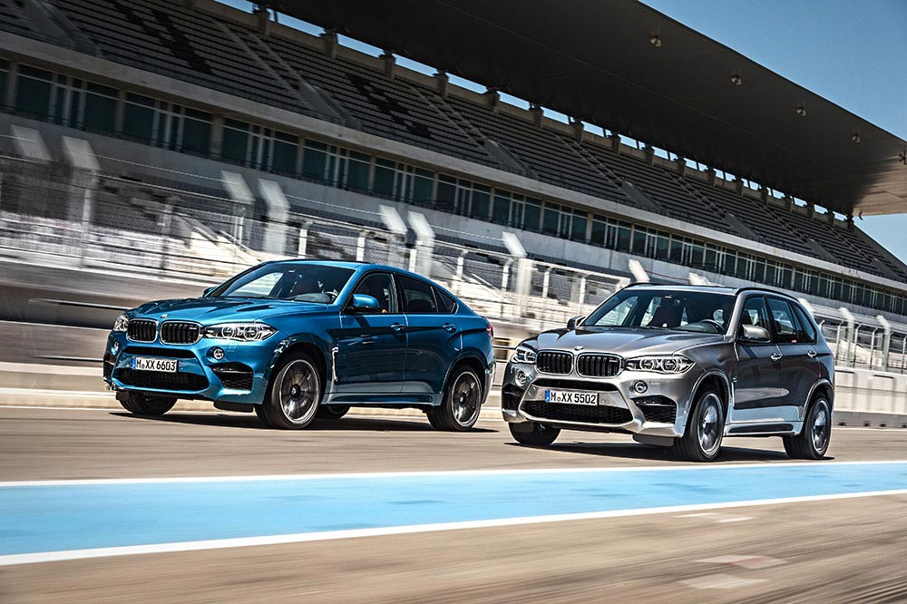 The new BMW X5 M and new BMW X6 M 3